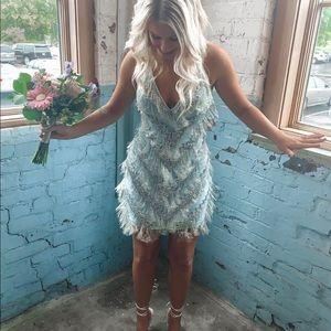 Blue formal dress